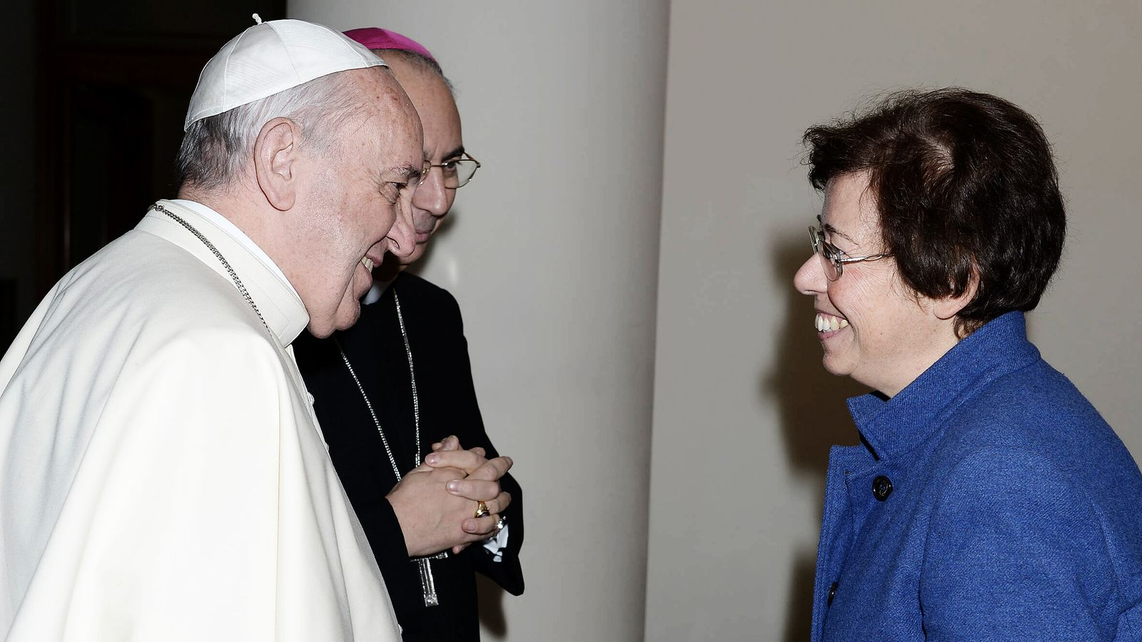 NO FRANCE - NO SWITZERLAND: January 15,2020 : Pope Francis appoints Dr Francesca Di Giovanni as under-secretary in the S