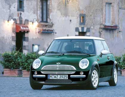 Sieger in der Kategorie Kleinwagen: BMW Mini