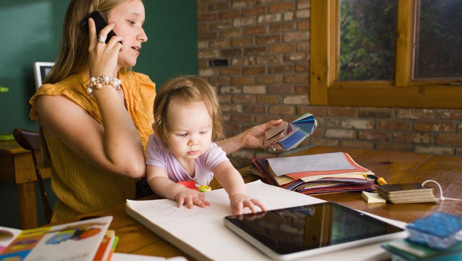 Klischeebild: Müssten nicht vor allem Frauen gern zu Hause arbeiten?