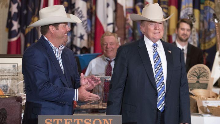 """Made in America""-Woche: Trumps Produktshow"