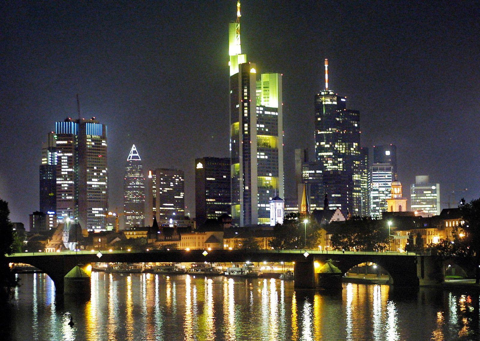 Nachkriegsarchitektur/ Städte/ Frankfurt