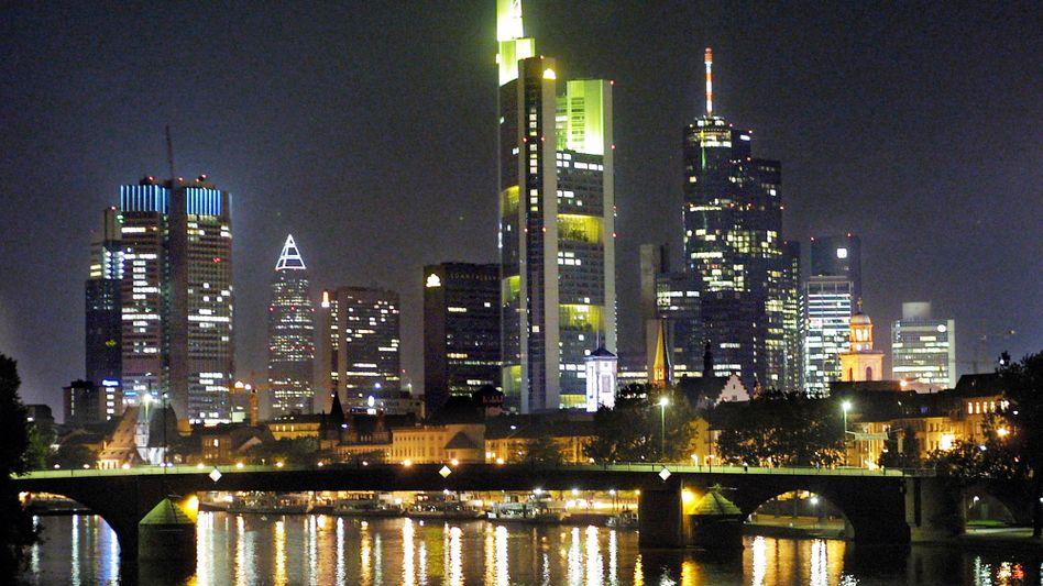 Bankenviertel in Frankfurt: Noch manches im Argen
