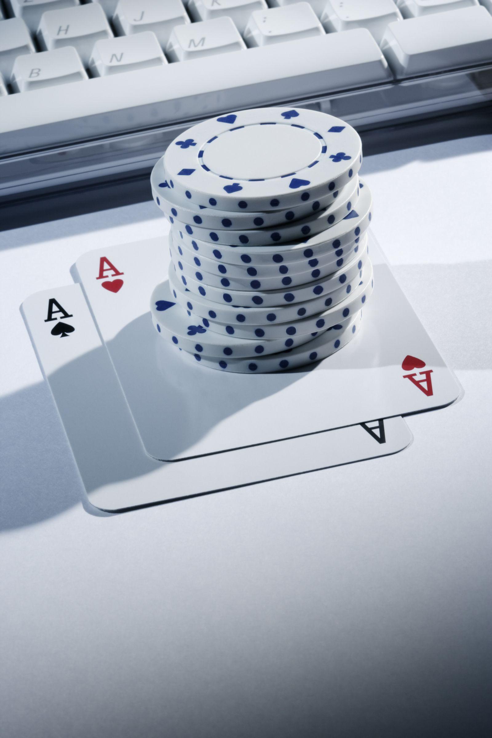 NICHT MEHR VERWENDEN! - Online Poker / Symbolbild