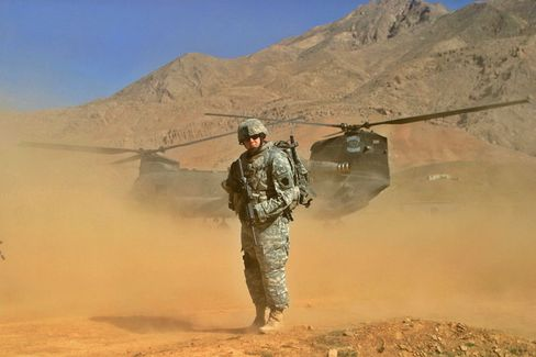 US-Soldat in Afghanistan: Lebensmitteltechniker arbeiten an neuer Kost für Kampftruppen