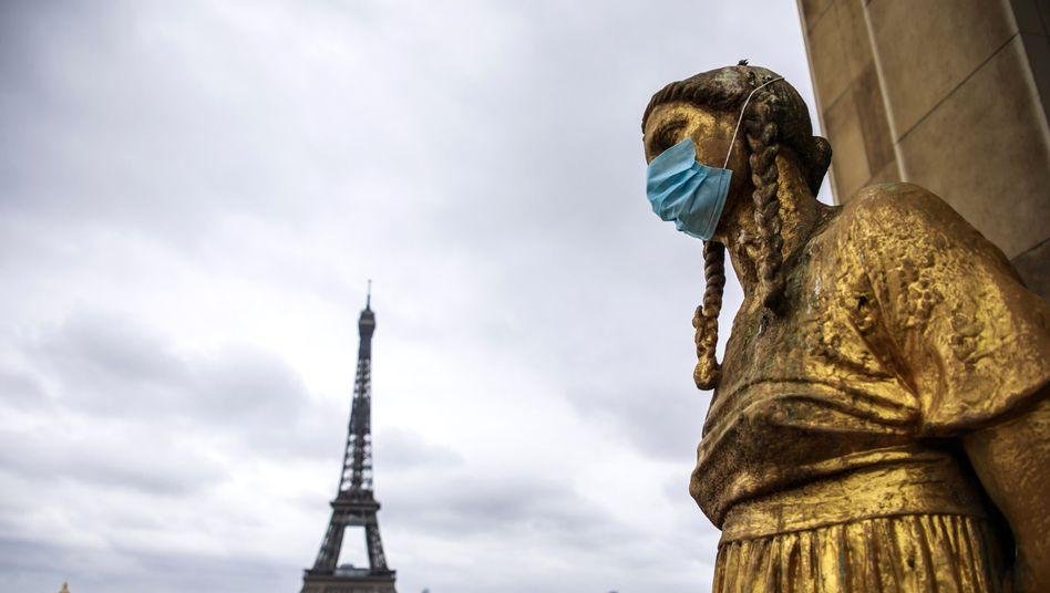 In Frankreich haben sich nachweislich 132.000 Menschen mit dem Coronavirus infiziert