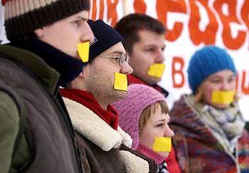 Protest in Weimar: Keine Mitsprache für Studenten?