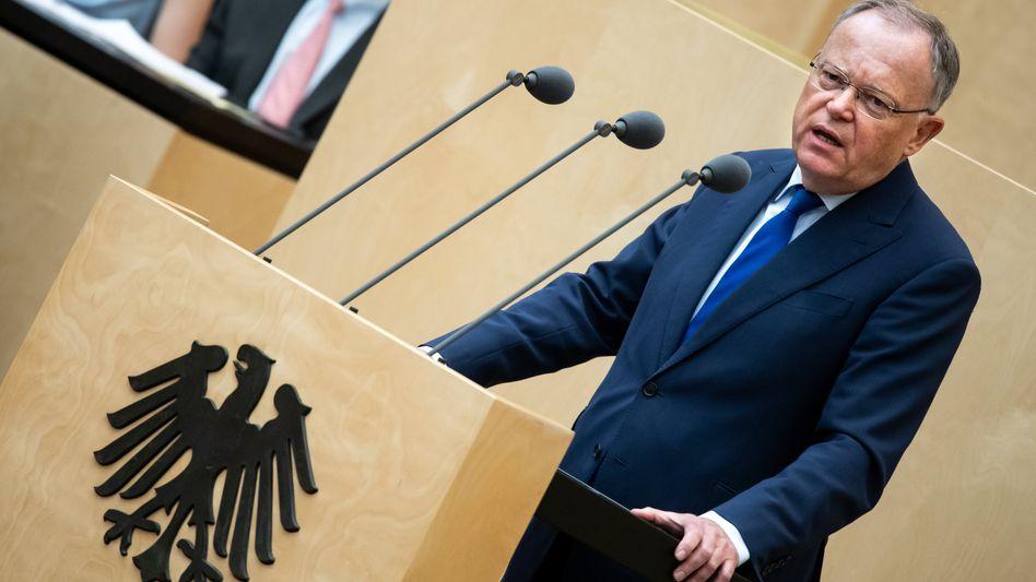 Niedersachsens Ministerpräsident Stephan Weil im Bundesrat (Archiv)