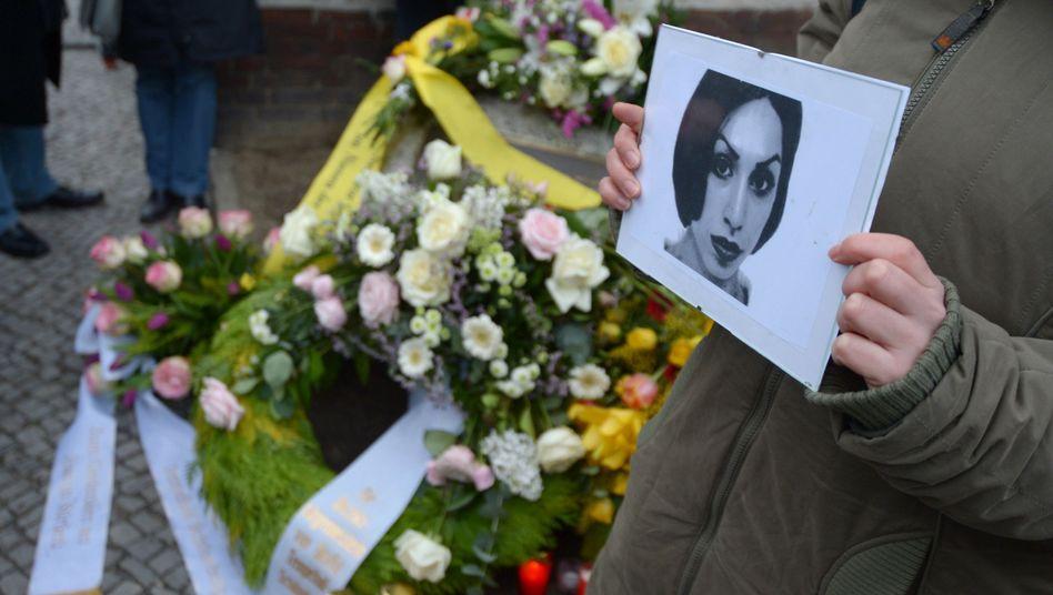 """Gedenken an Hatun Sürücü (Archivbild): Opfer eines """"Ehrenmordes"""""""
