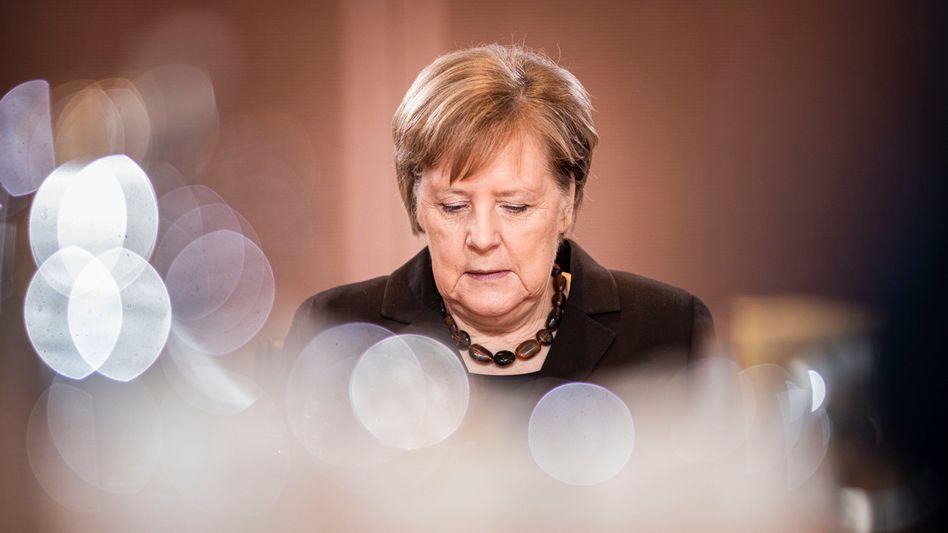 """Kanzlerin Merkel: """"In der Lage, ihre Dienstgeschäfte zu führen"""""""