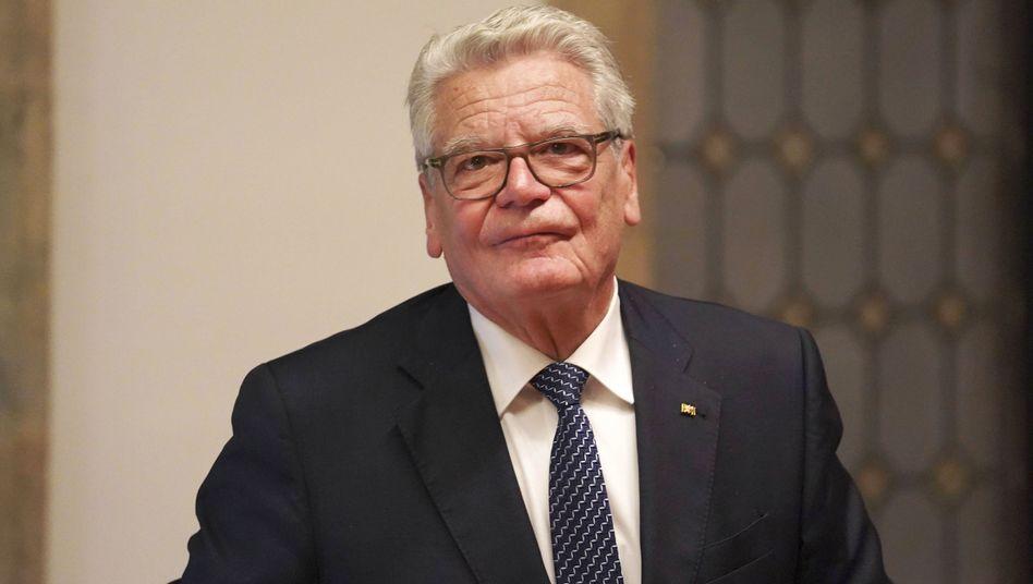 """Joachim Gauck: """"Toleranz ist manchmal eine Zumutung"""""""