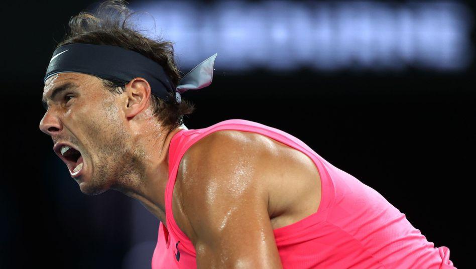 Rafael Nadal hat immer noch die Power, in Melbourne weit zu kommen