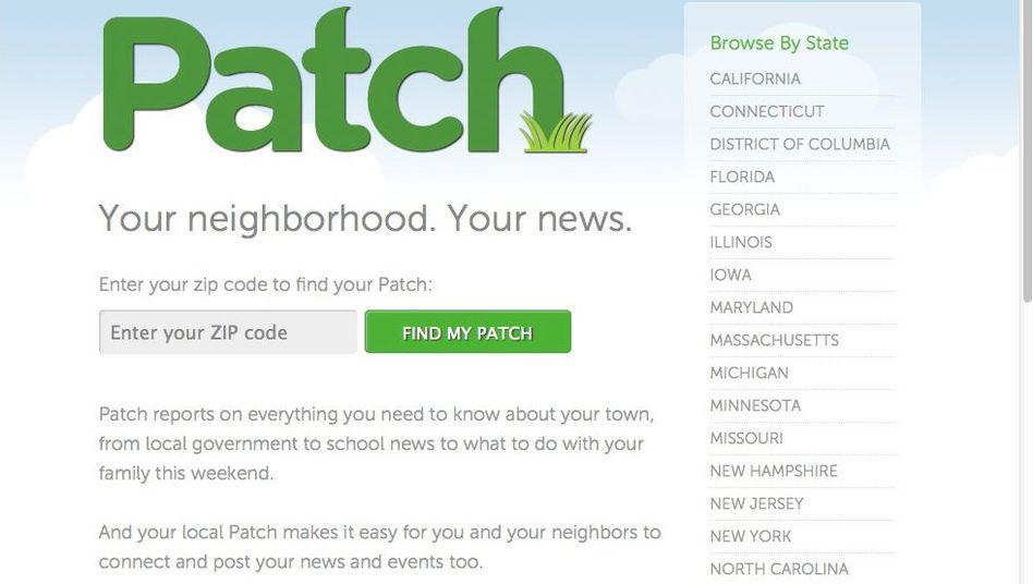 Patch.com: Von knapp 1000 Lokalausgaben auf angeblich nur 250 geschrumpft
