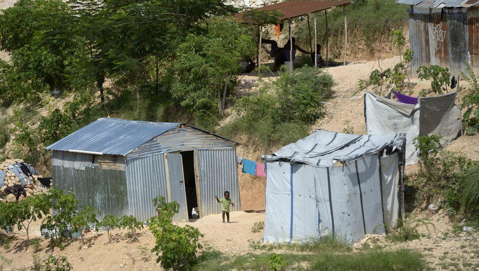 """Canaan bei Port-au-Prince: """"Architektonische Anarchie und Verslumung"""""""