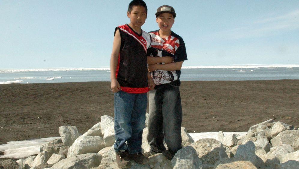 Eskimo-Dorf Kivalina: Das Meer rückt näher