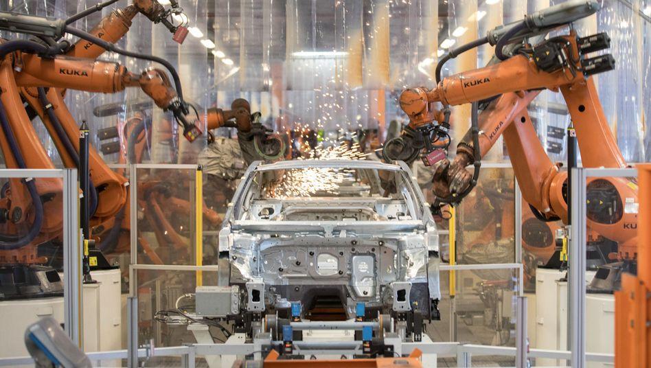 Montage im VW-Werk Emden
