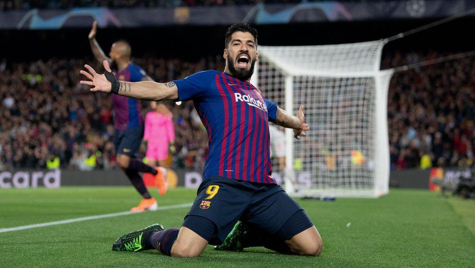 Luis Suárez traf in 283 Spielen seit 2014 für Barcelona 198 Mal