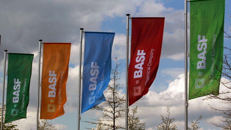 BASF-Flaggen