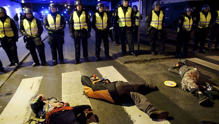 Photo Gallery: Climate Activists Clash with Danish Police