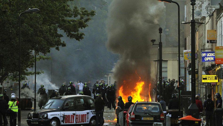 Unruhen am 8. August: London im Ausnahmezustand