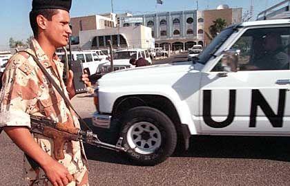 Inspektoren der Uno: Geheimes Wissen über Waffenlieferanten des Irak