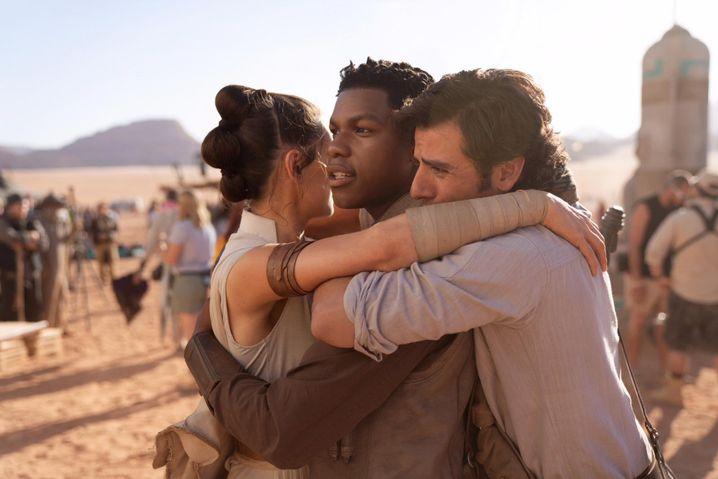 """Daisy Ridley, John Boyega und Oscar Isaac in """"Der Aufstieg Skywalkers"""""""