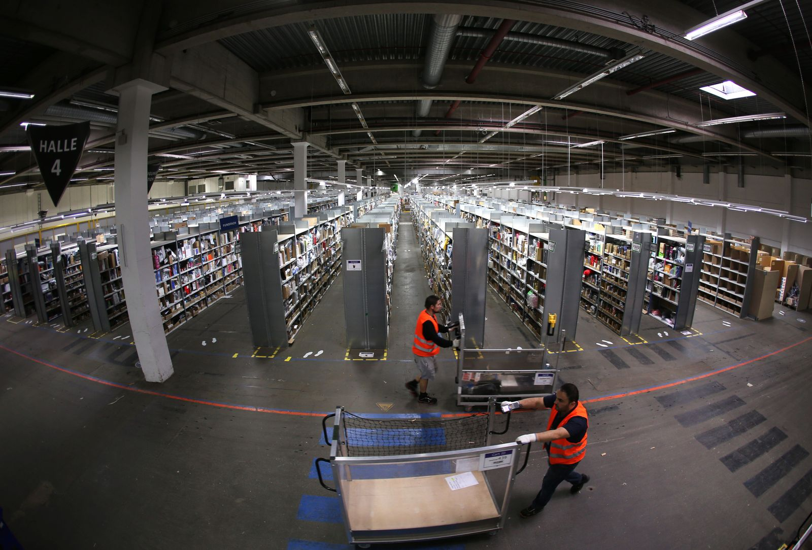 Amazon/ Logistikzentrum Werne