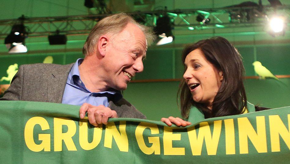 Jürgen Trittin und Katrin Göring-Eckardt: Das ganz große Brimborium