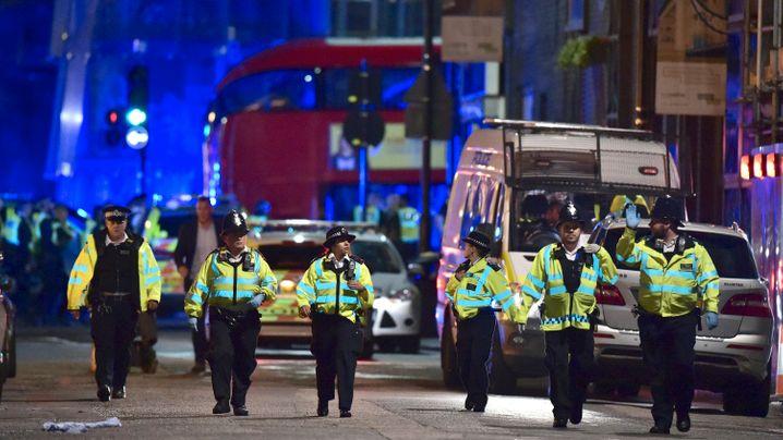 Terroranschlag: Großeinsatz in der Londoner Innenstadt