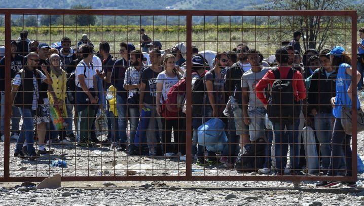 Flüchtlinge: Die Odysee über den Balkan