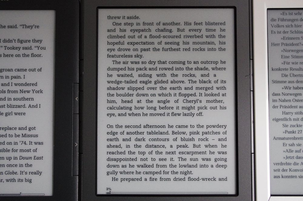 E-Reader / Kindle / Sony PRS-T1