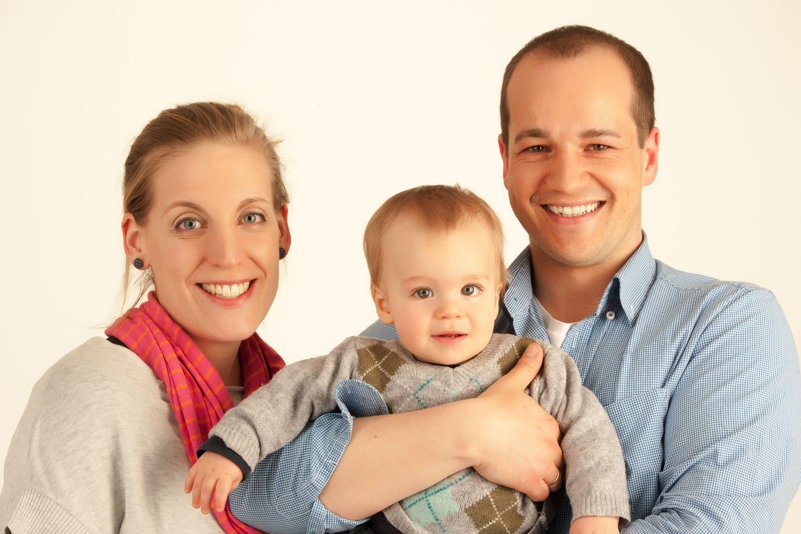 EINMALIGE VERWENDUNG Familien - Verheiratete Eltern