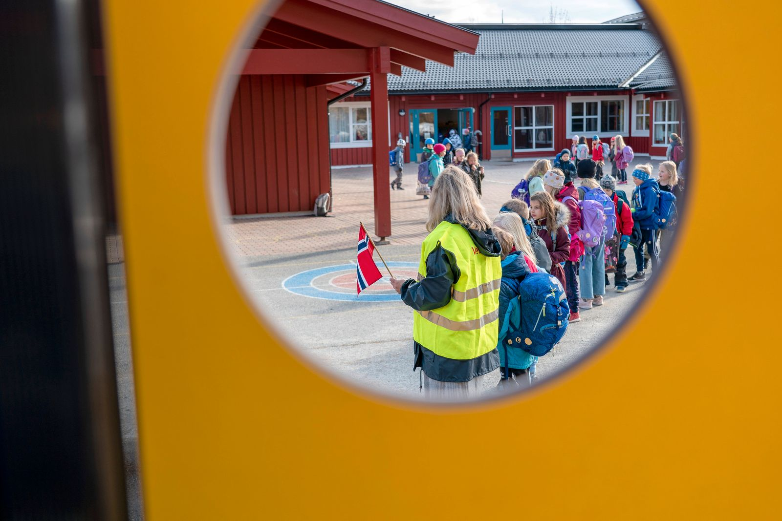 Vikåsen school in Trondheim opens again after the coronavirus outbreak