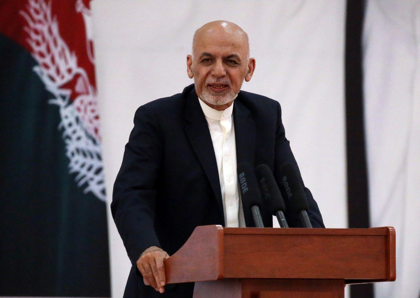 Ashraf Ghani/ Anschlag