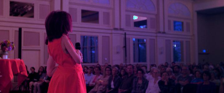 Anne-Katrin Ott erzählt: Die 44-Jährige kann mit ihrer Geschichte begeistern