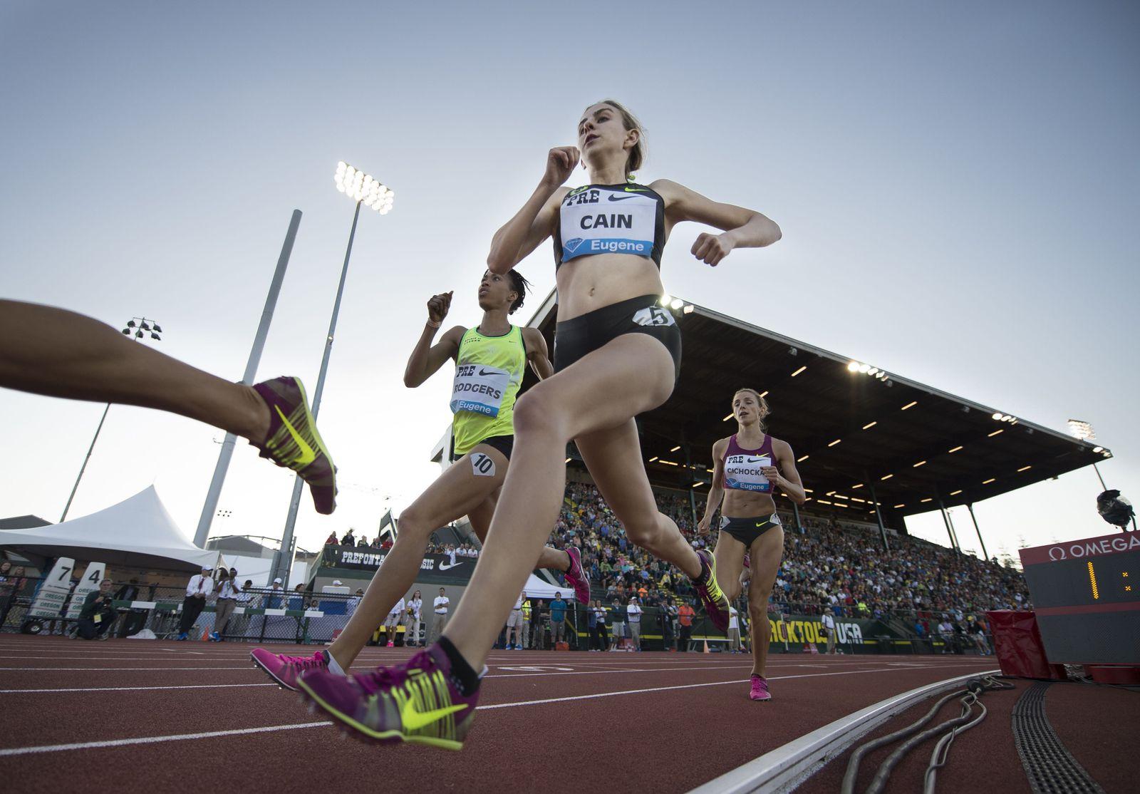 EINMALIGE VERWENDUNG Nike Oregon Project/ Mary Cain