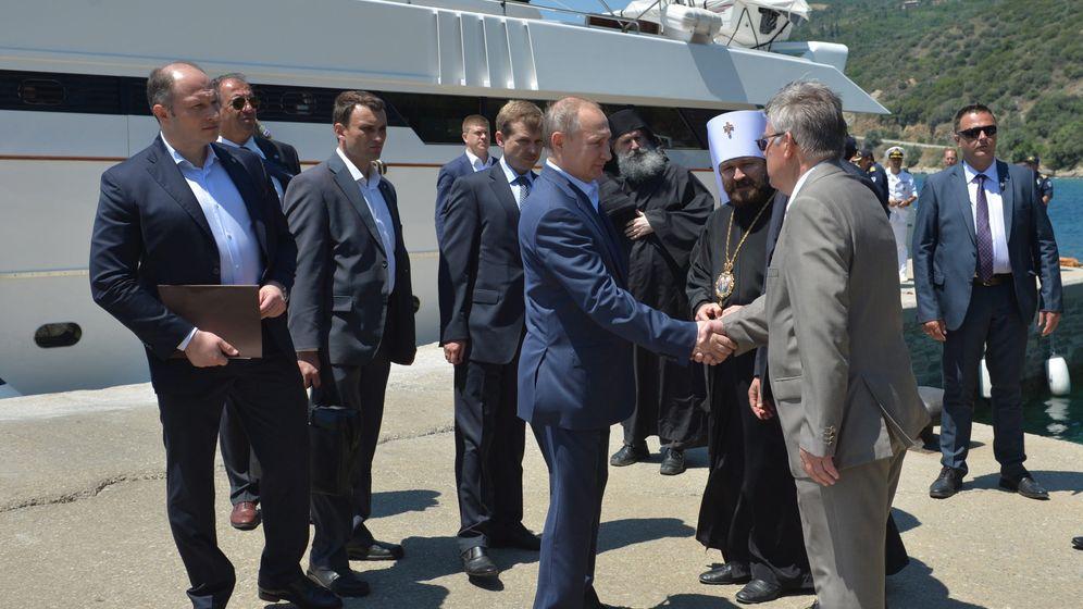 Besuch auf Berg Athos: Putin orthodox