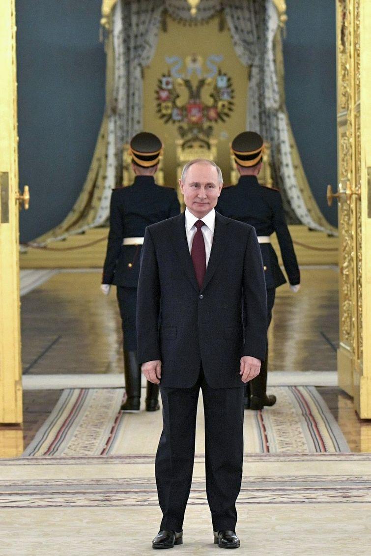 Neue Botschafter in Moskau überreicht
