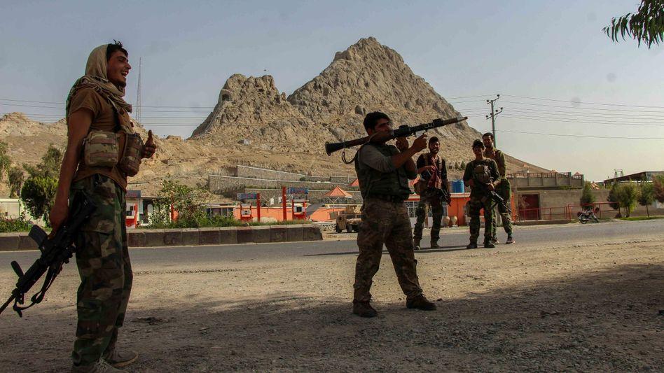 Afghanische Regierungstruppen bei Spin Boldak: erneute Gefechte