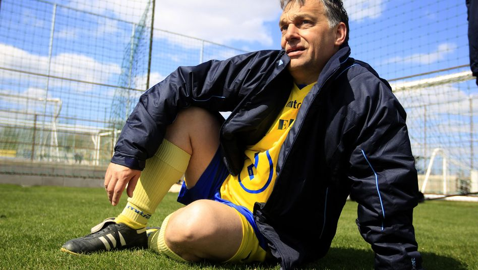 Field of Dreams: Hungarian Prime Minister Viktor Orban in Felcsut in 2012