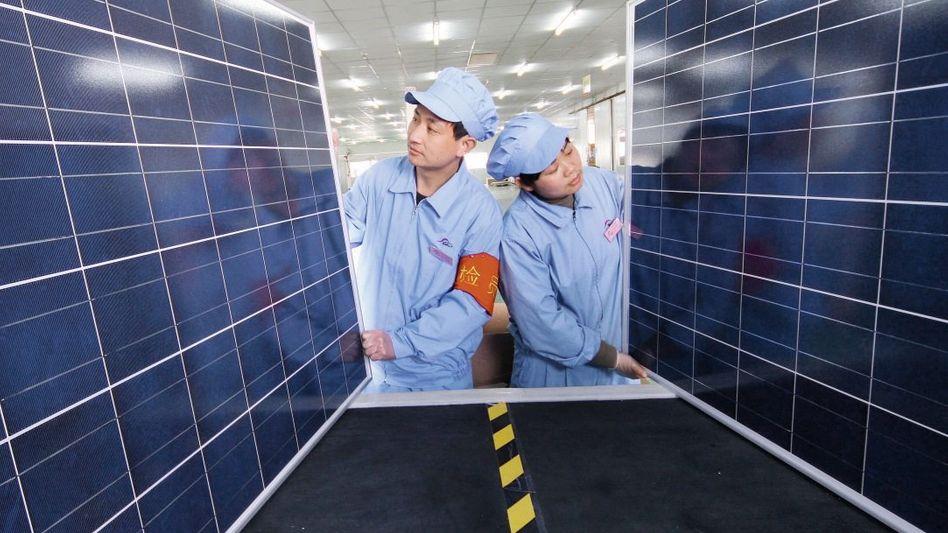 Solarfabrik in China: Irgendwie aus dem Blick geraten