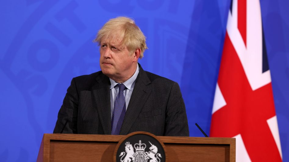 Boris Johnson verlängerte am Montag die noch geltenden Corona-Maßnahmen bis zum 19. Juli