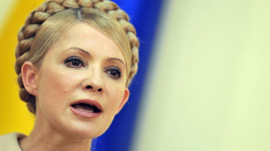Julija Timoschenko: Das blonde Haar der ukrainischen Politikerin ist begehrt