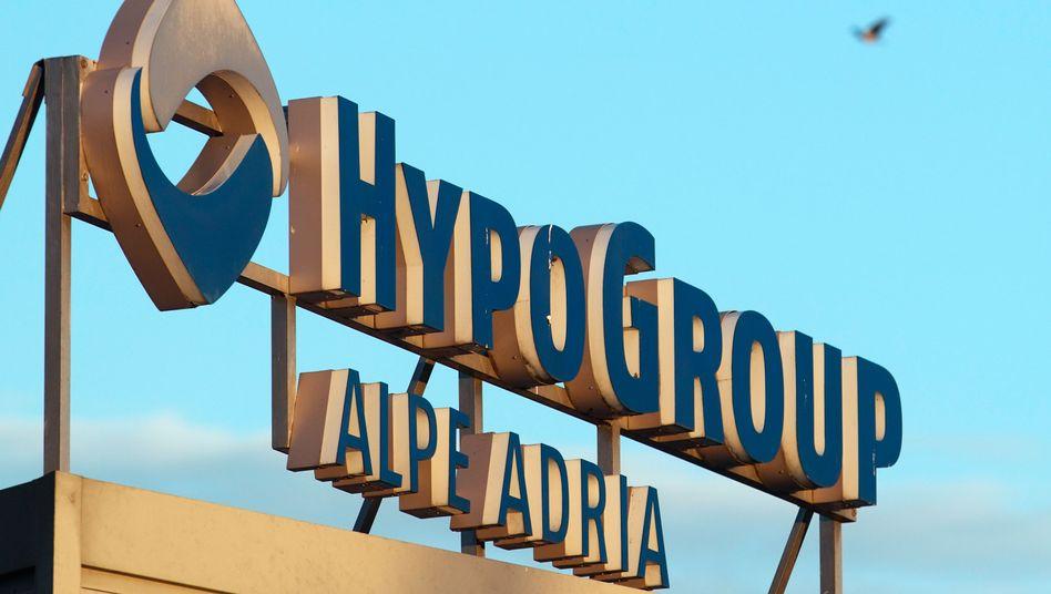 Logo der Hypo Group Alpe Adria: Schlussstrich unter Streit über ausstehende Gelder