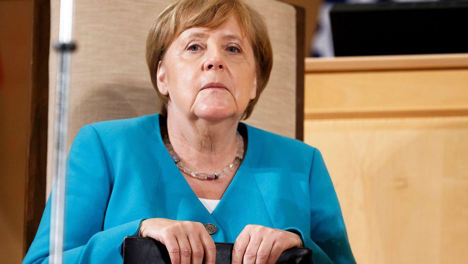 Kanzlerin Merkel am Dienstag bei der Internationalen Arbeitsorganisation ILO in Genf