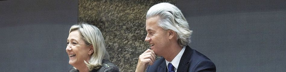 Rechtspopulisten Le Pen, Geert Wilders