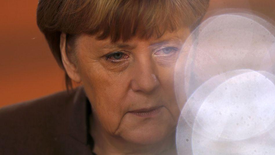 Kanzlerin Angela Merkel (bei der Kabinettssitzung am 21. Dezember)