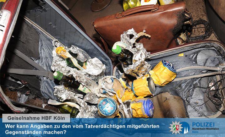 Koffer des Geiselnehmers