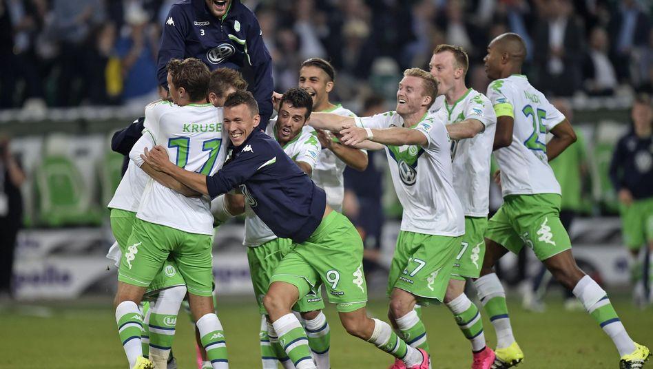 Wolfsburger Spieler: Bayern den Sieg entrissen
