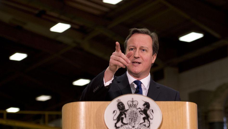 """Britischer Premier Cameron: """"Schließe absolut nichts aus"""""""