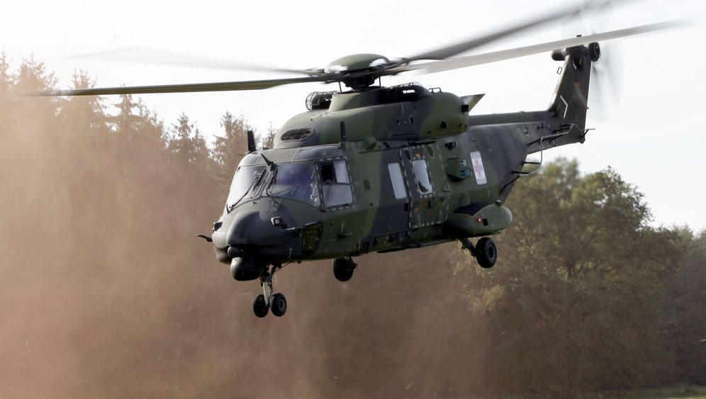 Bundeswehr: Ärger mit Helikoptern